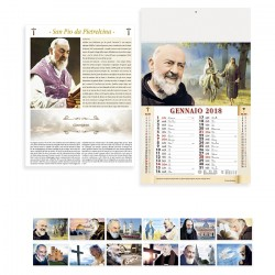 Calendari San Pio 100 pezzi