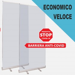 Roll-up Barriera protettiva IVA inclusa